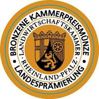 Bronzene Kammerpreismünze